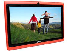 Tablet GHIA QUATTRO+ 47418 con Procesador Cortex A33 Quad Core 1.5GHz, Android 4.4, Wi-Fi, 2 Cámaras, Pantalla Multi-touch de 7
