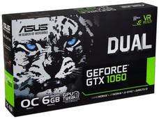 Tarjeta Gráfica NVIDIA ASUS GeForce GTX 1060 DUAL, 6GB GDDR5, 2xHDMI, 1xDVI, 2xDisplayPort, PCI Express x16 3.0