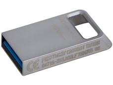 Unidad Flash USB 3.1 DataTraveler Micro 3.1 con Diseño ultracompacto de 128 GB.