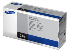 Cartucho de Tóner Samsung 116 Negro, Modelo: MLT-D116S.