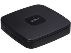 DVR Dahua de 4 canales HDCVI, Penta-híbrido TVI, AHD, CVBS, 1 Canal IP Adicional, no incluye disco duro. Color Negro.