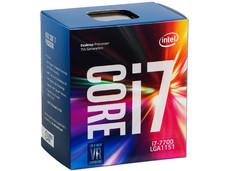 Procesador Intel Core i7-7700 de Séptima Generación, 3.6 GHz (hasta 4.2 GHz) con Intel HD Graphics 630, Socket 1151, L3 Caché 8 MB, Quad-Core, 14nm.