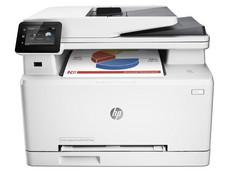 Multifuncional HP Color LaserJet Pro MFP M277dw: Impresora Láser a Color, Copiadora, Escáner y Fax, Pantalla Touch de 3