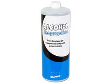 Alcohol Isopropilico Silimex, para mantenimiento y limpieza. 1 Litro.