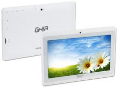 Tablet GHIA Any QUATTRO+ 47418 con Procesador Cortex A33 Quad Core 1.5GHz, Android 4.4, Wi-Fi, 2 Cámaras, Pantalla Multi-touch de 7