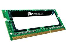 Memoria Corsair Value Select SODIMM DDR3 PC3-10600 (1333 MHz) CL9, 8 GB.