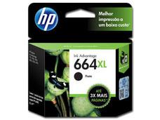 Cartucho de Tinta HP 664XL Negro, Modelo: F6V31AL.