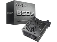 Fuente de Poder EVGA Power Supply de 650W.
