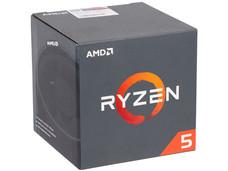 Procesador AMD Ryzen R5 1400, 3.2 GHz (hasta 3.5 GHz), Socket AM4, Quad-Core, 65W.