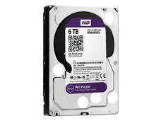 Disco Duro para Videovigilancia Western Digital Purple de 6 TB, IntelliPower RPM, 64MB, SATA III (6 Gb/s)