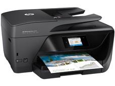 Multifuncional de Inyección de Tinta a Color HP OfficeJet Pro 6970, Impresora, Copiadora, Escáner y Fax, resolución hasta 600 x 1200 dpi, Wi-Fi, USB.