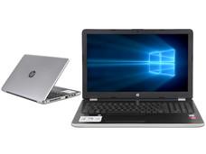 Notebook HP 15-bs015la: CPU Intel Core i5 7200U (hasta 3.10 GHz), D.D. 1TB, RAM 8GB DDR4, Gráficos AMD Radeon 520, Pantalla 15.6