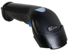 Lector de Código de Barras EC Line , USB. Color Negro.