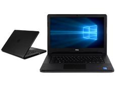 Notebook DELL Vostro 3458: CPU Intel Core i3 5005U (2.0 GHz), D.D. 500GB, RAM 4GB DDR3L, Gráficos Intel HD Graphics 5500, Pantalla 14