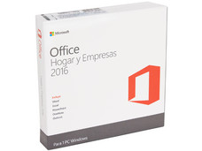 Microsoft Office Hogar y Empresas 2016, 1 PC. (32/64 Bits)