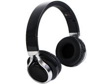 Audífonos QFX modelo H-252 con Micrófono, Radio FM, Bluetooth. Color Negro