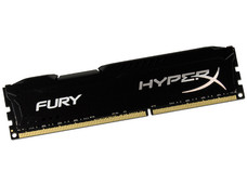Memoria Kingston HyperX Fury DDR3, PC3-12800 (1600MHz), CL10, 8 GB.
