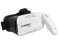 Gafas de Realidad Virtual TechPad 3D VR World para Smartphones.