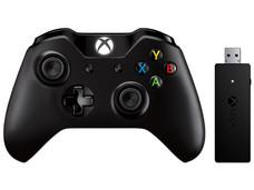 Control Inalámbrico para Xbox One + Adaptador inalámbrico Xbox para Windows.