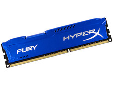 Memoria Kingston HyperX Fury DDR3, PC3-12800 (1600MHz), CL10, 4 GB.
