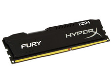 Memoria Kingston HyperX Fury Black DDR4, PC4-17000 (2133 MHz) CL14, 4 GB.
