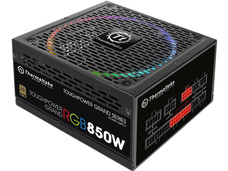 Fuente de poder Thermaltake Toughpower Grand RGB de 850W, ATX, 80 Plus Gold.