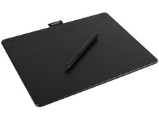Wacom Intuos 3D Creative Pen & Touch CTH-690 Medium - Digitizer - 21.6 x 13.5 cm - multi-touch - electromagnetic - 4 buttons - wired - USB - black