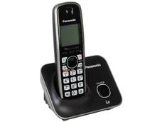 Teléfono Inalámbrico Panasonic KX-TG4111 Tecnología DECT 6.0 Digital y 50 números en memoria.