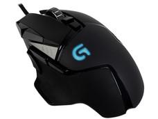 Mouse Gamer Logitech G502 Proteus Spectrum, 200-12,000 dpi, 11 botones e iluminación RGB programables, USB.