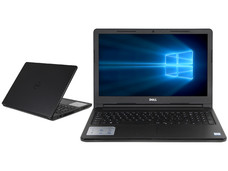 Notebook DELL Inspiron 15-3567: CPU Intel Core i3 6006U (2.00 GHz), D.D. 1TB, RAM 4GB DDR4, Gráficos HD Graphics 520, Pantalla 15.6