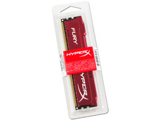 Memoria Kingston HyperX Fury DDR3 de 1866 MHz, CL10, 8 GB.