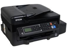 Multifuncional de Inyección Epson EcoTank L575, Impresora, Copiadora, Escáner y Fax, Sistema de Tanques de Tinta, Wi-Fi, Ethernet, USB.