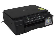 Multifuncional de Inyección Brother DCP-T500W InkBenefit, Impresora, Copiadora, y Escáner, sistema de tanque de tinta, USB, Wi-Fi.