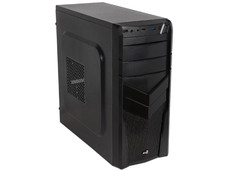 Gabinete Aerocool Advance V2X, ATX (sin fuente de poder). Color Negro.