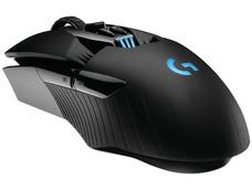 Mouse óptico inalámbrico Gamer Logitech G900 Chaos Spectrum de hasta 12,000dpi, 11 botones e iluminación RGB programables, USB.