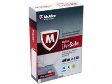 McAfee LiveSafe Antivirus multidispositivos (1 Año).
