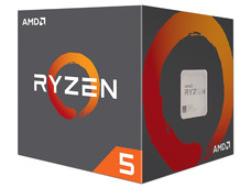 Procesador AMD Ryzen R5 1600, 3.2 GHz (hasta 3.6 GHz), Socket AM4, Six-Core, 65W.