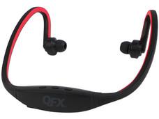 Audífonos manos libres QFX H-72BT, batería recargable, Bluetooth. Color Azul