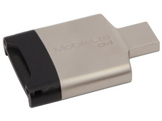 Lector de tarjetas kingston SD / microSD, USB 3.0.