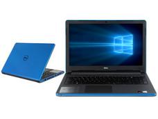 Notebook DELL Inspiron 15-5559: CPU Intel Core i7 6500U (hasta 3.1 GHz), D.D. 1TB, RAM 8GB DDR3L, Gráficos AMD Radeon R5 M335, Pantalla 15.6