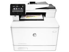 Multifuncional HP LaserJet Pro M477FNW, impresora, copiadora, escáner, Fax, USB, Ethernet.