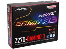 T. Madre GIGABYTE GA-Z270-Gaming 3, ChipSet Z270, Soporta: Intel Core i7/i5/i3/Pentium/ de 6ta y 7ma gen.., de Socket 1151, Memoria: DDR4 3866(O.C.)/ 3333(O.C.)/2133 MHz, 64GB Max, Integrado: Audio HD, Red, ATX, Ptos: 2xPCIEx16, 3xPCIEx1.