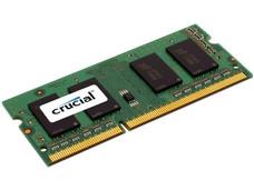 MEMORIA LAPTOP CRUCIAL 4GB DDR3 1600 CAJA BAJO VOLTAJE
