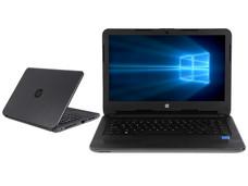 Notebook HP 240 G5: CPU Intel Celeron N 3060 (hasta 2.48 GHz), D.D. 1TB, RAM 8GB DDR3L, Gráficos Intel HD Graphics 400, Pantalla 14