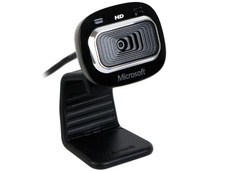 WebCam Microsoft LifeCam HD-3000, Video HD 720p widescreen (16:9), Micrófono integrado, USB. (OEM)