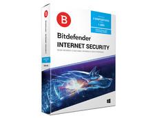 Bitdefender Internet Security 2018, 3 Dispositivos, 1 Año.