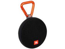 Bocina portátil JBL CLIP 2, recargable, resistente al agua, Bluetooth, 3.5mm. Color Negro