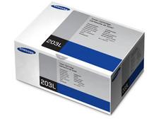 Cartucho de Tóner Samsung 203L, Negro, Modelo: MLT-D203L.