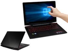 Notebook Lenovo Ideapad Y700-15ISK: CPU Intel Core i5 6300HQ (hasta 3.2 GHz), D.D. 1TB, RAM 8GB DDR4, Gráficos NVIDIA GeForce GTX 960M, Pantalla 15.6