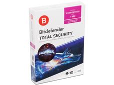 Bitdefender Total Security 2018, 1 año (3 usuarios)